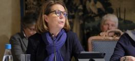Véronique Cantin, vice-présidente de la Commission Solidarité, en charge de la démographie médicale