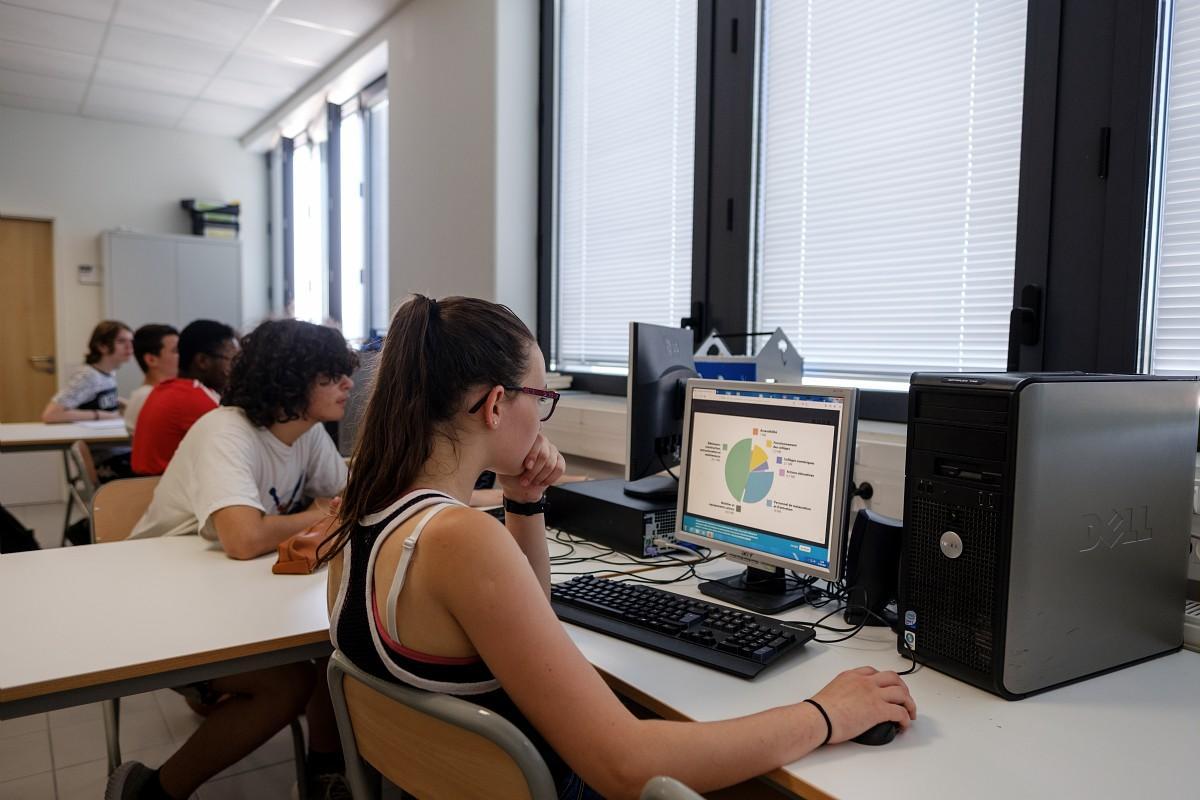 Plan numérique collège
