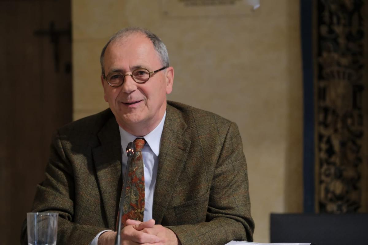 Fabien Lorne, président de la Commission Finances, Ressources et Administration générale